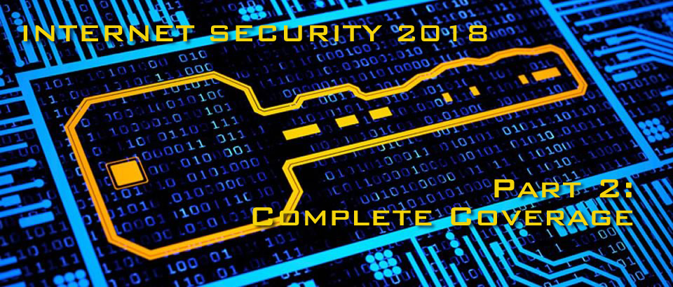 Internet Security 2018 (Complete Coverage)